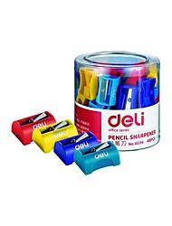 cheap -1pc Mini Pencil Sharpener Cute Stationery School Supplies For Children Random Color