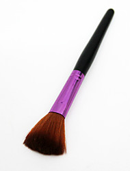 cheap -Professional Makeup Brushes 1pc Soft Comfy Synthetic Hair Plastic for Blush Brush