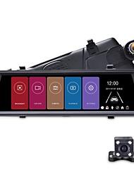 Недорогие -Junsun A900C Автомобильный видеорегистратор 3g Android-видеорегистратор с двумя объективами FHD 1080 P GPS-навигации Автомобильная видеорегистратор Зеркало заднего вида DVR