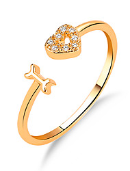 cheap -Ring Gold Silver Copper 1pc / Couple's