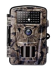 Недорогие -Камера охотничьего следа / скаут-камера 12 Мп CMOS цвет HD 1080P Ночное видение 2,4-дюймовый ЖК ИК-светодиоды 42шт Походы / туризм / спелеология Охота Животные 940 nm 3 mm 2560 × 1920