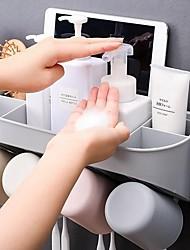 Недорогие -Стакан для зубных щеток Аксессуар для хранения Современный современный Стекло Инструменты Зубная щетка и аксессуары