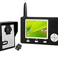 cheap -Factory OEM Wireless 3.5 inch Hands-free One to One video doorphone