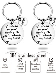 cheap -Christmas / Mini / Holiday Keychain Favors Stainless steel / Steel Stainless / 304 stainless steel Practical Favors / Gifts / DIY Supplies - 1 pcs All Seasons
