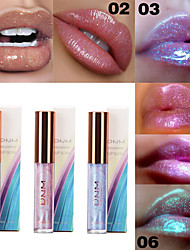 cheap -Brand DNM Shiny Moisturizing Lip Gloss Sparkling Crystal Mermaid Pigment Polarized Liquid Lip Balm Makeup
