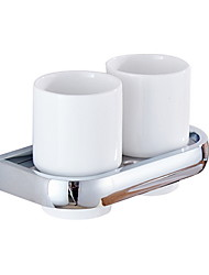 cheap -Toothbrush Holder Creative / Multifunction Contemporary Metal 1pc Wall Mounted