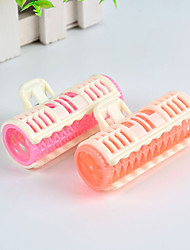 cheap -Spring Clips Plastic Hair Curler Rollers Large Grip DIY Hair Styling Tools Home Use Hairdressing Roller Curlers