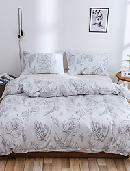 cheap -3pcs Luxury Comforter Bedding Sets Cartoon Pattern Bed Linen Cotton Duvet Cover Bed Sheet Pillowcases Cover Set
