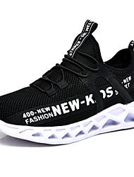 abordables -Garçon Confort Flyknit Chaussures d'Athlétisme Petits enfants (4-7 ans) / Grands enfants (7 ans et +) Marche Noir et Or / Rouge / Noir / blanc Printemps / Automne / TPU (Polyuréthane Thermoplastique)