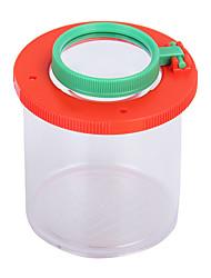 cheap -insect magnifier observation bottle for children transparent black