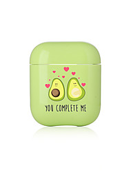 cheap -Case For AirPods Shockproof / Pattern Headphone Case Hard