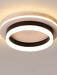 cheap -JSGYlights Circle Flush Mount Lights Ambient Light Painted Finishes Metal Acrylic New Design 110-120V / 220-240V Warm White / White