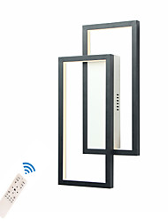 cheap -LED20W Wall Lights/  Creative Modern Flush Mount Wall Sconces Living Room / Study Room / Office Aluminum Black/ White/ Gold/ Warm White/ White/ Dimmable with Remote Control/ WIFI Smart Voice Control