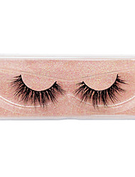 cheap -Eyelash Extensions 2 pcs Simple Women Ultra Light (UL) Comfortable Casual Convenient Plastic Daily Wear Vacation Full Strip Lashes - Makeup Daily Makeup Fashion Cosmetic Grooming Supplies