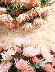 Недорогие -47см краб коготь хризантема моделирование цветок украшение дома свадебный букет завод 1 палка