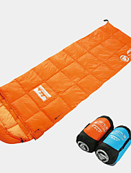 cheap -Sleeping Bag Outdoor Camping Envelope / Rectangular Bag 21 °C Single White Duck Down Windproof Ultra Light (UL) Folding Autumn / Fall Winter for Camping / Hiking Camping / Hiking / Caving Outdoor