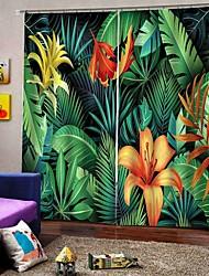 abordables -rideaux de tissu simple paysage chinois épaissie rideaux d'ombrage pour salon rideaux de douche imperméable à l'humidité