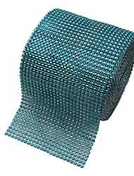 cheap -Diamond Rhinestone Ribbon Wrap Bulk 4.6 inches width,Wedding Party Decorations