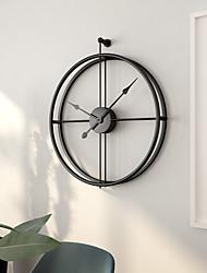 """cheap -Wall Clock,Modern Contemporary European Stainless steel Irregular Indoor 24"""" x 20"""" (60cm x50cm)"""