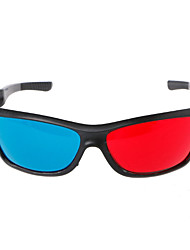 cheap -3D Glasses PC Red / Blue VR Virtual Reality Glasses Oval PC (Polycarbonate)