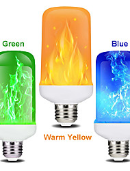 cheap -1 PC 7W LED Flame Effect Light Bulb E27 Flickering Flame Energy Saving for Festival HalloweenChristmasPaty AC85-265V
