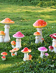 cheap -Cartoon Simulation Large Mushroom Decoration Outdoor Garden Courtyard Landscape Ornament