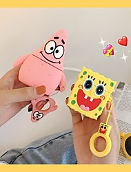 cheap -AirPods Case Cool  Pattern Shockproof Protective Cartoon Cover Portable For AirPods1 & AirPods2 (AirPods Charging Case Not Included)