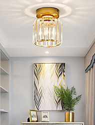 cheap -1-Light LED® Crystal / Geometrical Flush Mount Lights Ambient Light Glass Crystal, Mini Style 110-120V / 220-240V