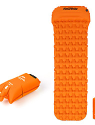 cheap -Naturehike Inflatable Sleeping Pad Air Pad with Pillow Outdoor Camping Waterproof Portable Moistureproof TPU Nylon 198*59*6.5 cm Hunting Fishing Beach for 1 person Autumn / Fall Spring Summer Orange