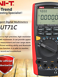 cheap -UNI-T UT71C Smart Digital Multimeter True RMS Multimeter USB / Bluetooth Data Transmission Dual Backlight Temperature Test
