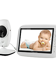 cheap -720P HD Wireless Baby Monitor Home Wireless Monitor Support 2 cameras Intercom Night Lights
