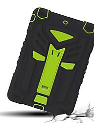 cheap -Case For Apple iPad Mini 5 / iPad Air / iPad 4/3/2 Shockproof Back Cover Solid Colored Soft TPU / Silica Gel / iPad (2017)
