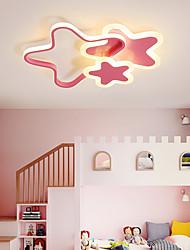cheap -1-Light 31 cm LED / Lovely Flush Mount Lights Metal Acrylic Linear Painted Finishes LED / Modern 110-120V / 220-240V