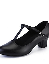 cheap -Women's Dance Shoes Synthetics Modern Shoes/Character Shoes Heel Thick Heel Customizable Black / Performance