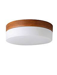 cheap -1-Light LED Flush Mount Lights Modern Indoor Ambient Light Ceiling Light Painted Finishes Metal Ceiling Light Fixtures for Balcony Corridor Room