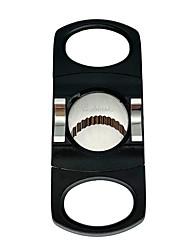 Недорогие -Lubinski сигарный нож из нержавеющей стали с двойным лезвием гильотинные ножницы карманный размер дымовой нож