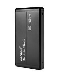 Недорогие -Caraele H2 USB3.0 портативный мобильный жесткий диск ультратонкий металлический корпус с USB-кабель для передачи данных PU кожаный мешок