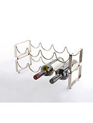 cheap -Superimposed Red Wine Storage Rack for Sitting Room Decor