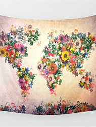 cheap -Floral Painting Series Gobelin Wall Hanging Tapestry Beach Mat for Traveling Home Supplies