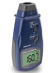 cheap -Hand-Held Non-contact Photoelectric Pro Laser Tachometer RPM Meter Speed Digital Tachometer SM6234E