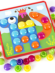 cheap -Interlocking Blocks Geometric Pattern Child's Baby All Toy Gift