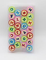 Недорогие -Пластиковый корпус 1# / 2# 1 комплект Stamper & Scraper 2.5*2.5*3.4 cm