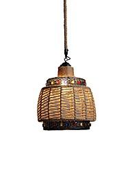 abordables -corde de chanvre réglable pendnat lumière lanterne lumière pendante lumière ambiante corde de chanvre nouvelle conception