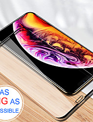 cheap -Full Cover Tempered Glass No Border Explosion-Proof Screen Protector Film for iPhone XS MAX/XR/XS/X/7/7S/8/8S Plus