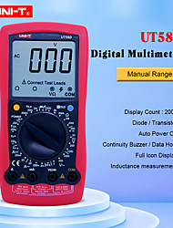 cheap -UNI-T Digital Multimeter UT58D AC/DC Volt Amp Ohm Capacitance Inductance Tester 20A