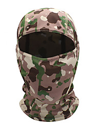 cheap -WOSAWE Cycling Cap / Bike Cap Helmet Liner Sports Mask Balaclava Camo / Camouflage Windproof Sunscreen Quick Dry Breathability Bike / Cycling Yellow Green Pink for Unisex Hunting Multisport Bike