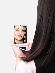 cheap -Cosmetic Mirrors Easy to Carry / Alcohol Free / Unscented Makeup 1 pcs Aluminium Alloy Quadrate Child / Daily / Teen Traditional / Fashion School / Daily Wear / Date Daily Makeup Normal Safety