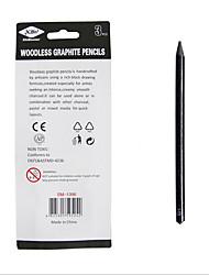 cheap -3 pcs Pencil Cartridge Replaceable HB Carbide