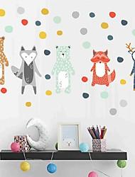 cheap -Decorative Wall Stickers - Plane Wall Stickers Animals Nursery / Kids Room 20*60cm