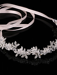cheap -Women's Hair Jewelry For Wedding Engagement Party Wedding Crystal Alloy White 1pc